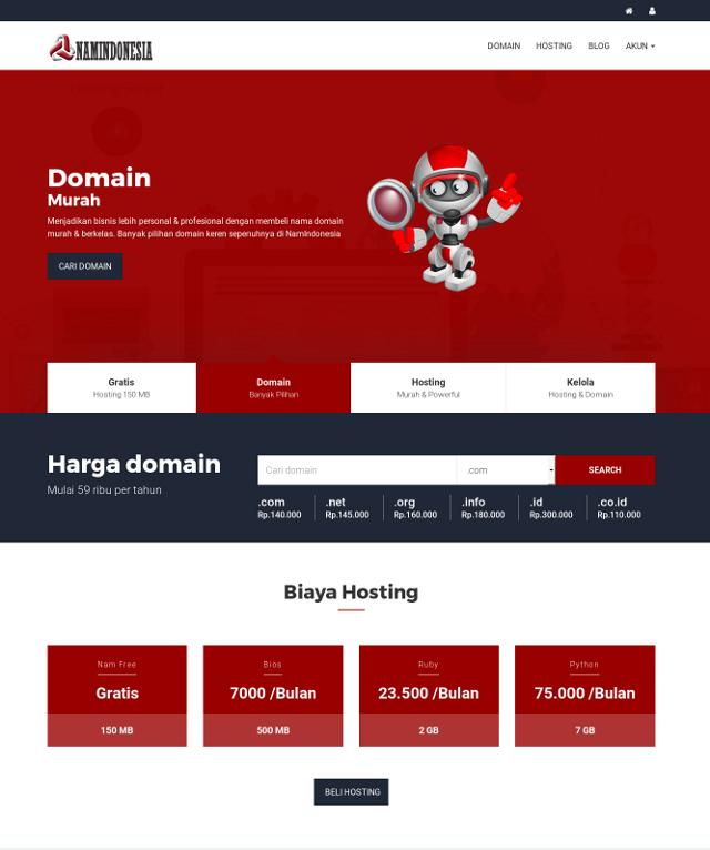 Domain & Hosting Provider