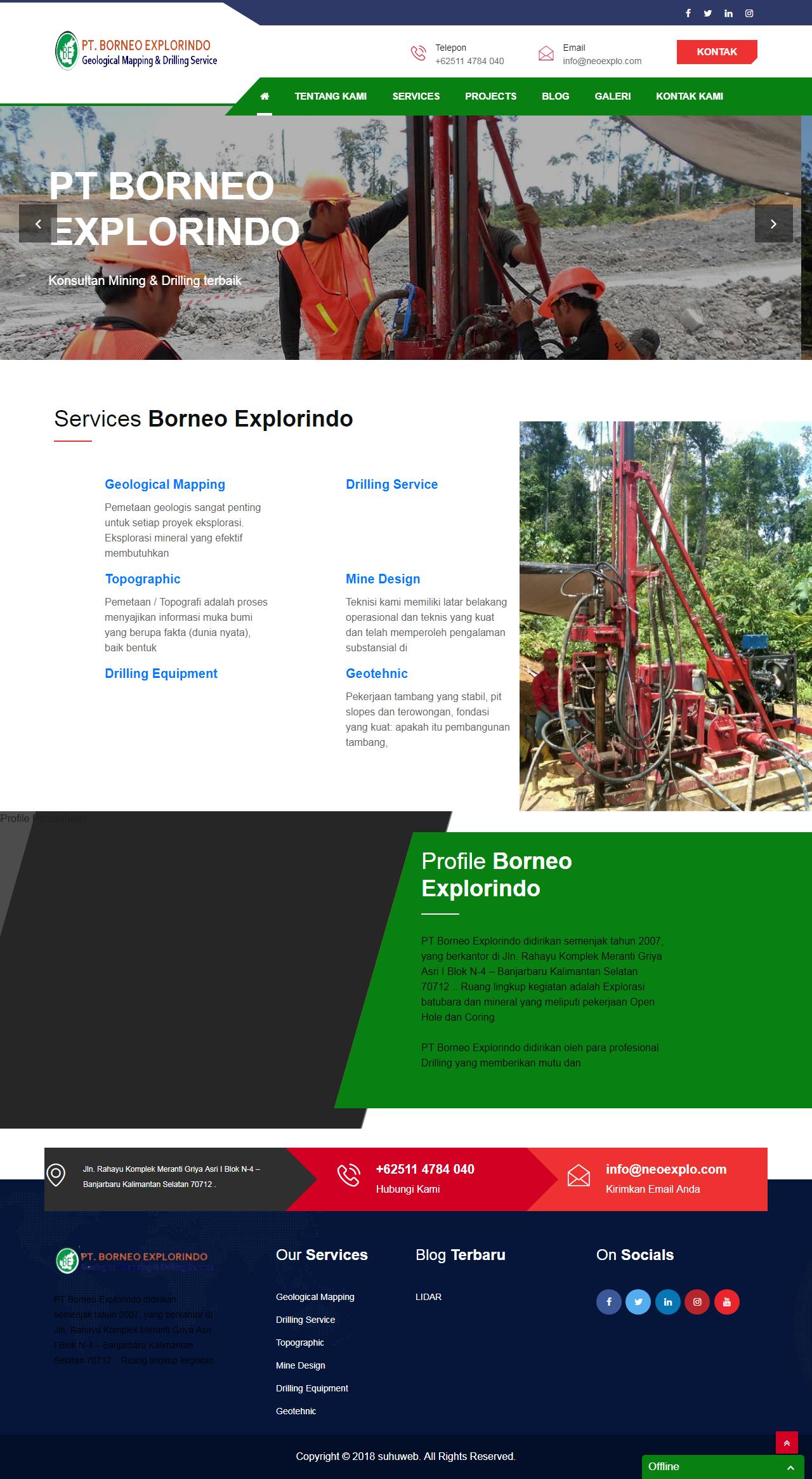 PT Borneo Explorindo